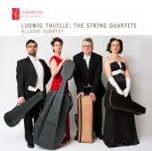 Album artwork for Thiulle: The String Quartets / Allegri Quartet