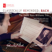 Album artwork for CLASSICALLY REMINDED: BACH