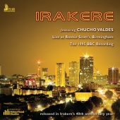 Album artwork for Irakere: Live at Ronnie Scott's, Birmingham