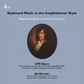 Album artwork for Keyboard Music in the Empfindsamer Style - CPE Bac