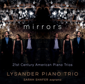 Album artwork for Mirrors - 21st Century American Piano Trios