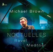 Album artwork for NOCTUELLES: Ravel • Medtner