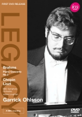 Album artwork for GARRICK OHLSSON PLAYS BRAHMS, CHOPIN, LISZT