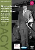 Album artwork for MUNCH & BSO: Schumann & Schubert