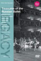 Album artwork for Treasures of the Russian Ballet