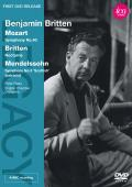 Album artwork for Benjamin Britten: Mozart, Mendelssohn, Britten