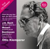 Album artwork for Klemperer Conducts Bach, Mozart, and Beethoven
