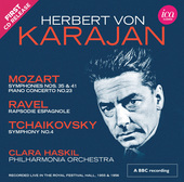 Album artwork for Mozart, Ravel & Tchaikovsky / Karajan