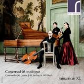 Album artwork for Conversed Monologue - Concerti by Graun, LeClair,