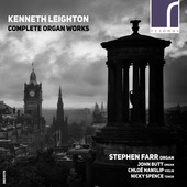 Album artwork for Leighton: COMPLETE ORGAN WORKS