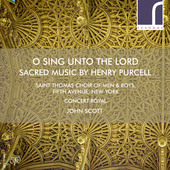 Album artwork for O SING UNTO THE LORD