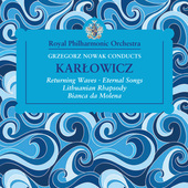 Album artwork for Grzegorz Nowak Conducts Karlowicz