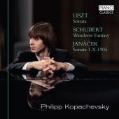 Album artwork for LISZT / SCHUBERT / JANECEK