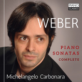 Album artwork for Weber: COMPLETE PIANO SONATAS