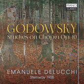 Album artwork for Godowsky: STUDIES ON CHOPIN, OP. 10