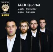 Album artwork for JACK Quartet: Ligeti, Pintscher, Cage & Xenakis