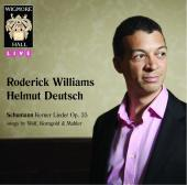 Album artwork for Roderick Williams: Songs by Wolf, Schumann, Korngo