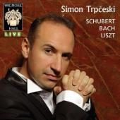 Album artwork for Simon Trpceski plays Schubert / Bach / Liszt