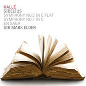 Album artwork for Sibelius: Symphonies 5 &7 / Elder