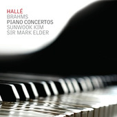 Album artwork for Brahms: Piano Concertos 1 & 2 / Kim, Elder
