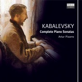 Album artwork for Kabalevsky: Complete Piano Sonatas