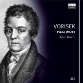 Album artwork for Vorisek: Piano Works