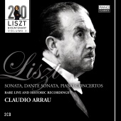 Album artwork for Claudio Arrau plays Liszt; Public Performances
