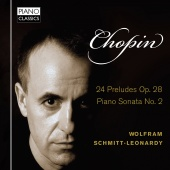Album artwork for Chopin: Preludes Op.28, Piano Sonata No.2 / Schmit