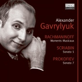 Album artwork for Alexander Gavrylyuk: Rachmaninoff, Scriabin, Proko
