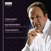 Album artwork for Alexander Ghindin: Stravinsky, Rachmaninov, Tchaik
