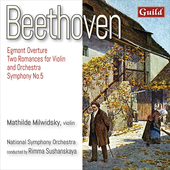 Album artwork for Beethoven: Egmont Overture - 2 Romances for Violin