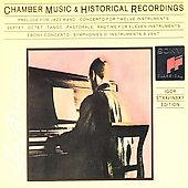 Album artwork for Stravinsky: Chamber Music & Historical Recordings