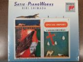 Album artwork for Satie: Piano Works / Shimada