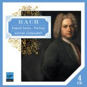 Album artwork for Bach: English Suites & Partitas / Leonhardt