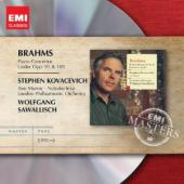 Album artwork for Brahms: Piano Concertos & Lieder/ Kovacevich, Murr