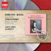 Album artwork for Debussy, Ravel, Stravinsky: String Quartets
