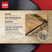 Album artwork for Michelangeli plays Ravel, Haydn, Rachmaninov