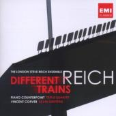 Album artwork for Reich: Different Trains, Piano Counterpoint, Tripl
