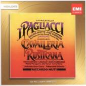 Album artwork for Mascagni: Cavalleria, Leoncavallo: Pagliacci Highl