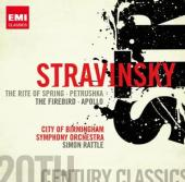 Album artwork for Stravinsky: Rite of Spring, Petrushka, Firebird