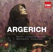 Album artwork for Martha Argerich: Music for Two Pianos