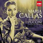 Album artwork for Callas:The Complete Puccini Studio Recordings