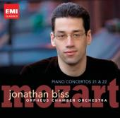 Album artwork for Mozart: Piano Concertos 21 & 22 (Biss)