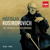 Album artwork for Mstislav Rostropovich: The Complete EMI Recordings