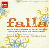 Album artwork for Falla: Spanish Songs, Nights in the Gardens of Spa