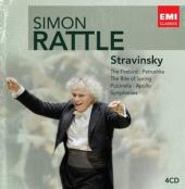 Album artwork for Simon Rattle Edition: Stravinsky