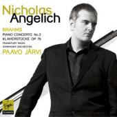 Album artwork for Brahms: Piano Concerto No. 2 etc. / Angelich