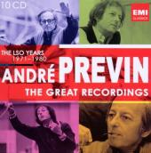 Album artwork for Andre Previn: The LSO Years 1971-80, Great Recordi