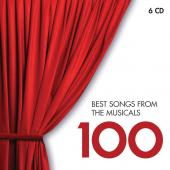 Album artwork for 100 Best Songs from the Musicals