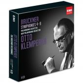 Album artwork for Bruckner: Symphonie 4-9 / Klemperer
